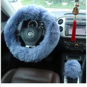 Other - steering wheel covers fur